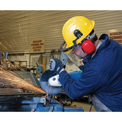 Safety Helmet/Ear Muffs/