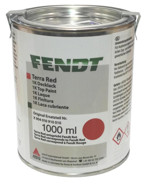 Fendt Paint X904010910010 Red 1L