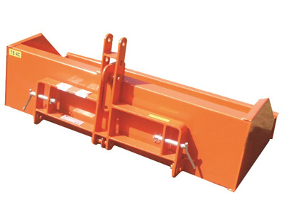 Fleming 4' Tipping Box Orange