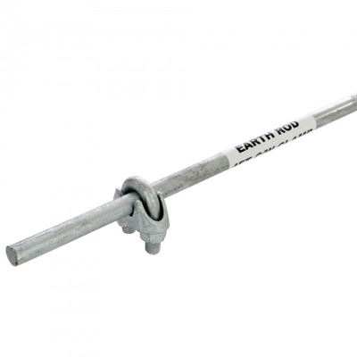 Earth Stake  5Ft. Long+Clamp