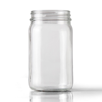 Clear Glass Jars (34cl)