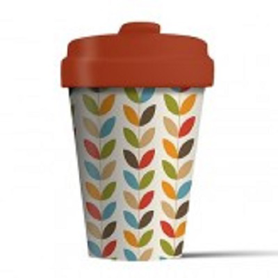 Bamboo Cup (Bright Leaves)