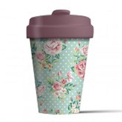 Bamboo Cup (Vintage Roses)