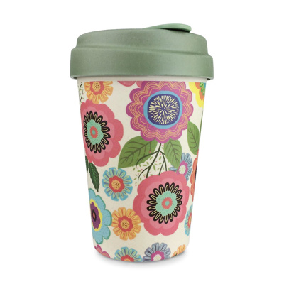 Bamboo Cup (Flower Power)