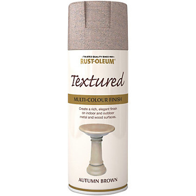 Spray Paint -Textured Autumn Brown (400ml)