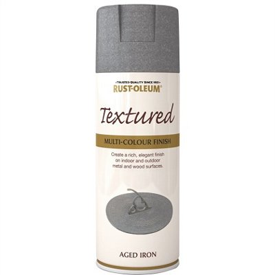 Spray Paint -Textured Aged Iron (400ml)