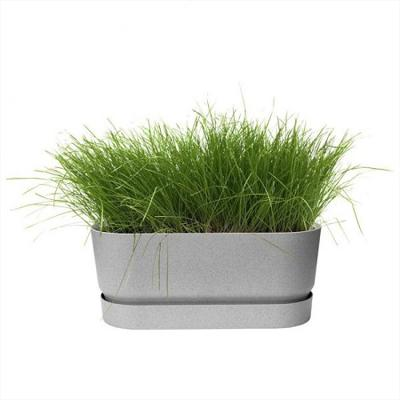 Greenville Long Planter (concrete)