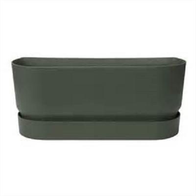 Greenville Long Planter (black)
