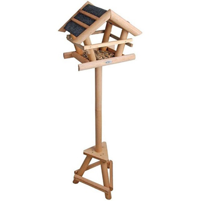 Small Starter Bird Table with Bitumen Roof