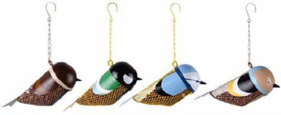 Bird Design Peanut Feeders (each sold separately)