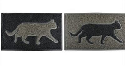 PVC Door Mat Cat Design (choice of 2)