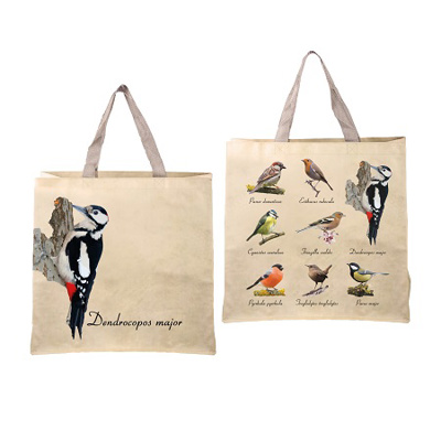 Reuseable Shopping Bag Bird Collection