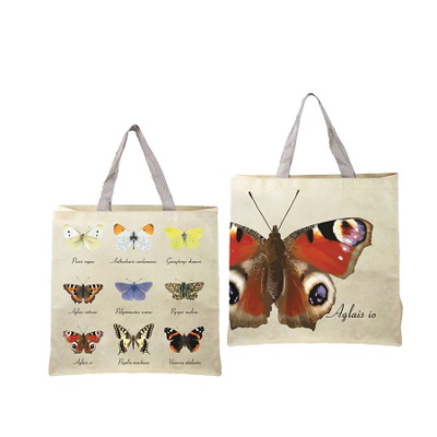 Reuseable Shopping Bag Butterfly Collection