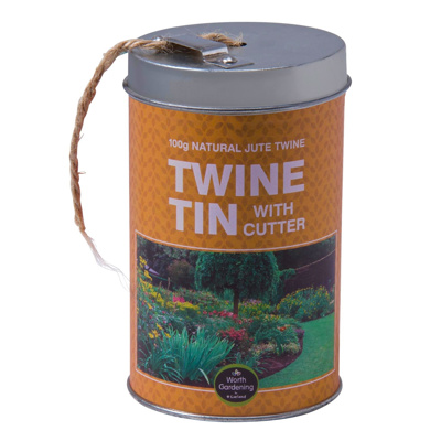 Garden Twine in Tin with Cutter