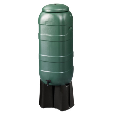100ltr Space Saver Water Butt with Stand/Fittings