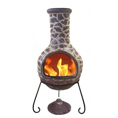 Cantera Brown Chiminea (large)