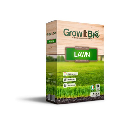 Grow It Bio Lawn Food & Soil Conditioner (1.5kg)