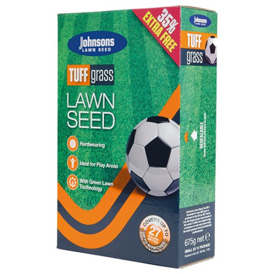 Johnsons 'Tuffgrass' Lawn Seed (675g)