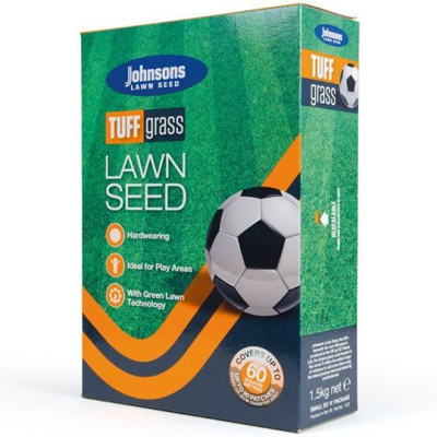 Johnsons 'Tuffgrass' Lawn Seed (1.5kg)