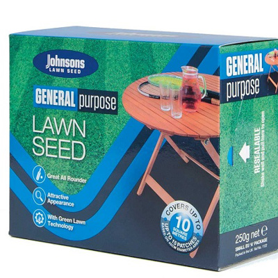 Johnsons General Purpose Lawn Seed (250g)