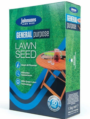 Johnsons General Purpose Lawn Seed (1.5kg)