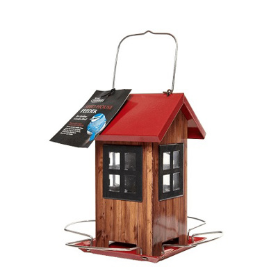 Red Seed House Feeder