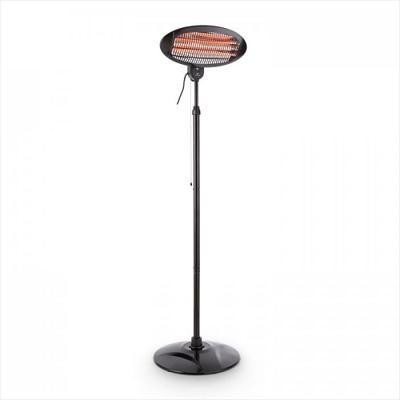 Black Standing Electric Heater (ip55)