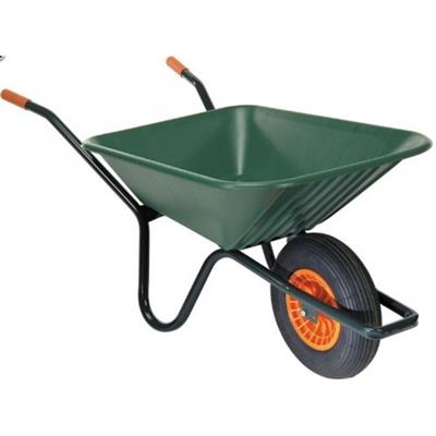 Cosmos Green Plastic Wheelbarrow