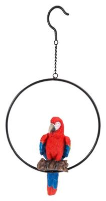 Hanging Red Macaw