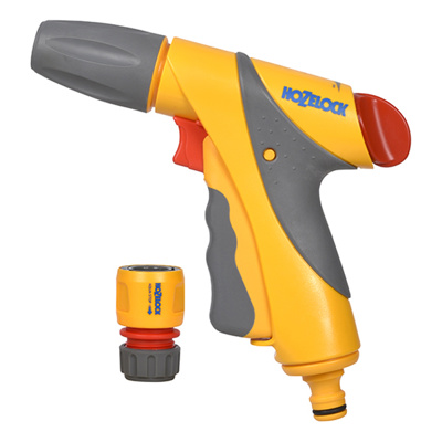 Jet Spray Plus Gun Hozelock + Hoze End Connector