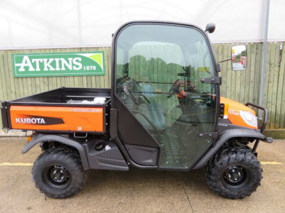 Kubota RTV-X1110 Utility Vehicle c/w Heated Cab