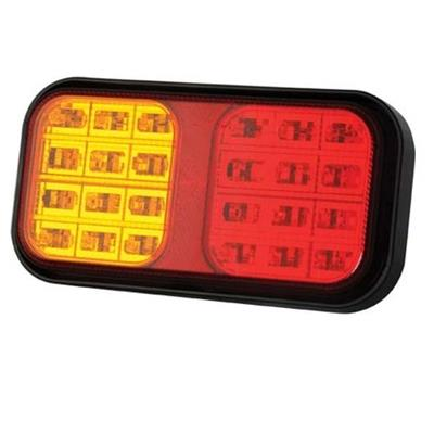 247 Led Taillight 190X100X37mm