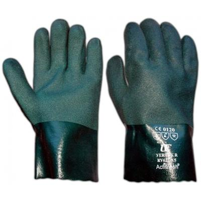 "11""Double Dip Green Gloves"