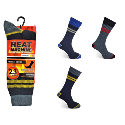 Heat Machine Thermal Workwear Socks