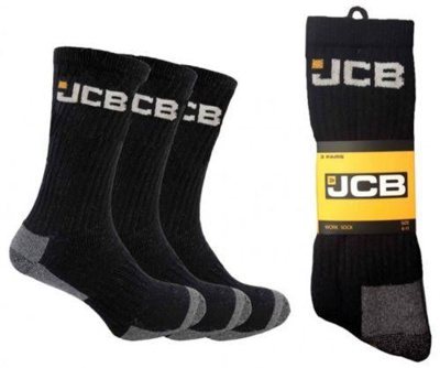 Jcb Socks Blk/Yellow 3Pk.