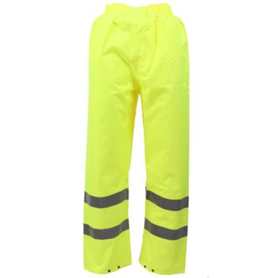Hi-Vis Yellow Pvc Trousers