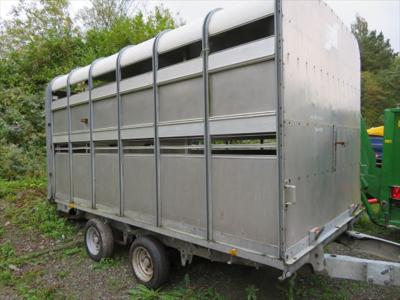 Ifor Williams DP120 Livestock Trailer