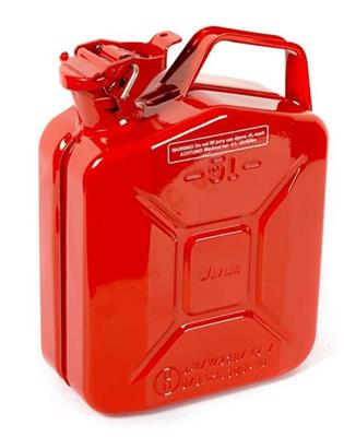 5 Litre Red Jerry Can