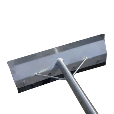 Cow Mat Scraper with Stainless Steel handle
