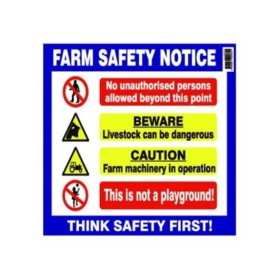 Farm Safety Notice Large