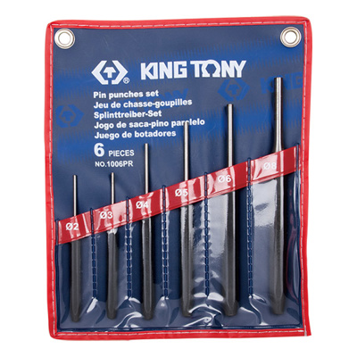 King Tony 1006PR 6Pc. Pin Punch Set