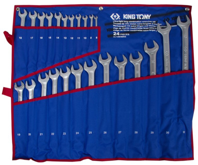 24 Pc Ultra Light Wrench Set