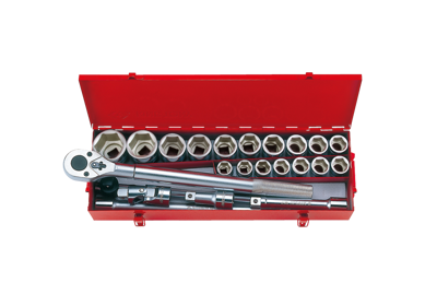 KT 3/4 Dr. 23pc. Socket Set 6 Point