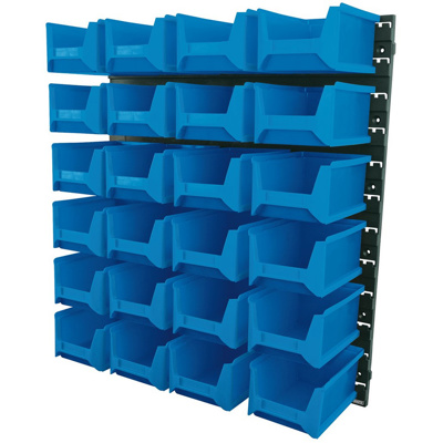 24Pc. Storage Bin Set