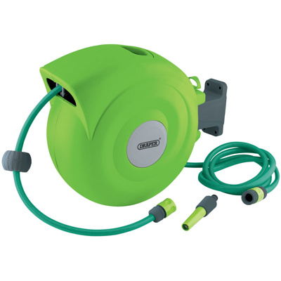 Draper Retractable Garden Hose Reel 20M