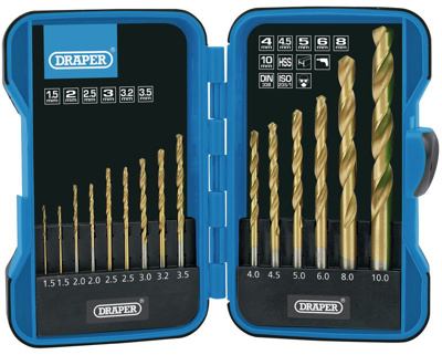 15Pc. Hss Drill Bit Set