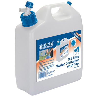 Draper 9.5lt.Water Container With Tap