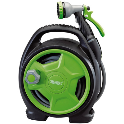 Draper Premium 10m Mini Hose Reel Set