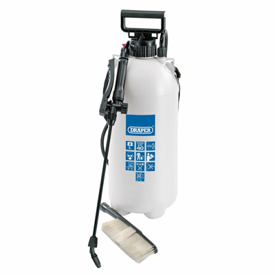 10l Vehicle Pressure Sprayer/ Wash Brush