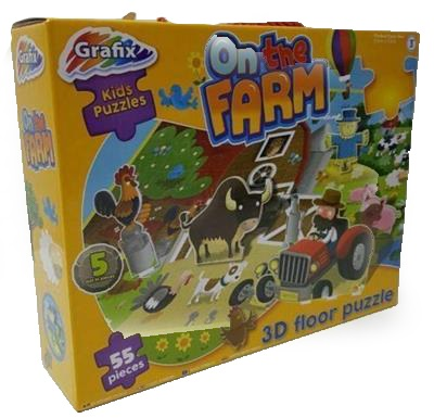 3D Farm Floor Puzzle Large